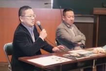 【写真】坂下康裕さん来校 特別授業が行われました