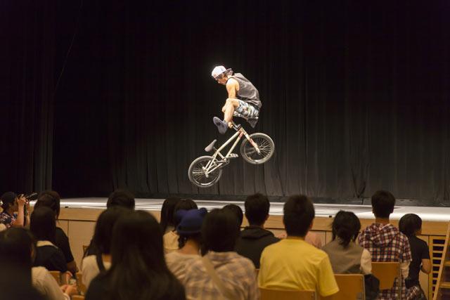 BMX世界チャンピオン 内野洋平さんとフォトセッション