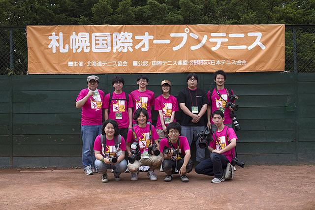 札幌国際オープンテニス撮影
