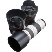 交換レンズ|大きく広角・標準・望遠に分類され用途に合わせて交換します。最近は、ズームレンズが主流です。