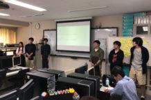 ゲームクリエィティブ学科 制作発表会が行われました!